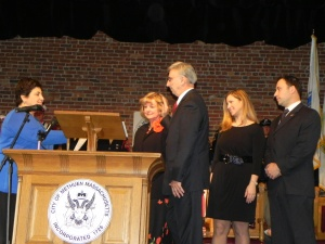 Zanni Swearing in 2012